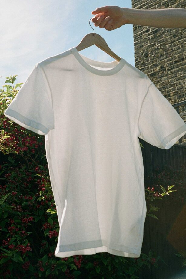 Uniqlo Suplima cotton white t-shirt. It wins the budget options in our best t-shirt review.