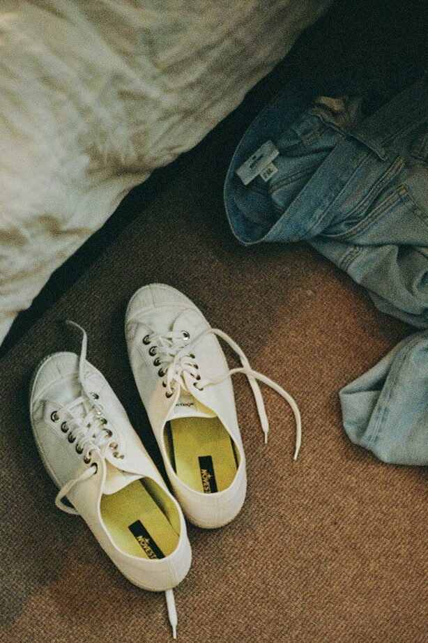 The Novesta Star Master. Our runner up pick for best the best white canvas sneakers under £80.