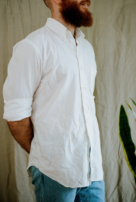 Kamakura Shirts New Vintage Ivy Button Down Oxford. Our pick for the best OCBD shirt for men.