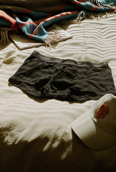 Sunspel Stretch Cotton Trunk. Our runner-up for the best boxer briefs.