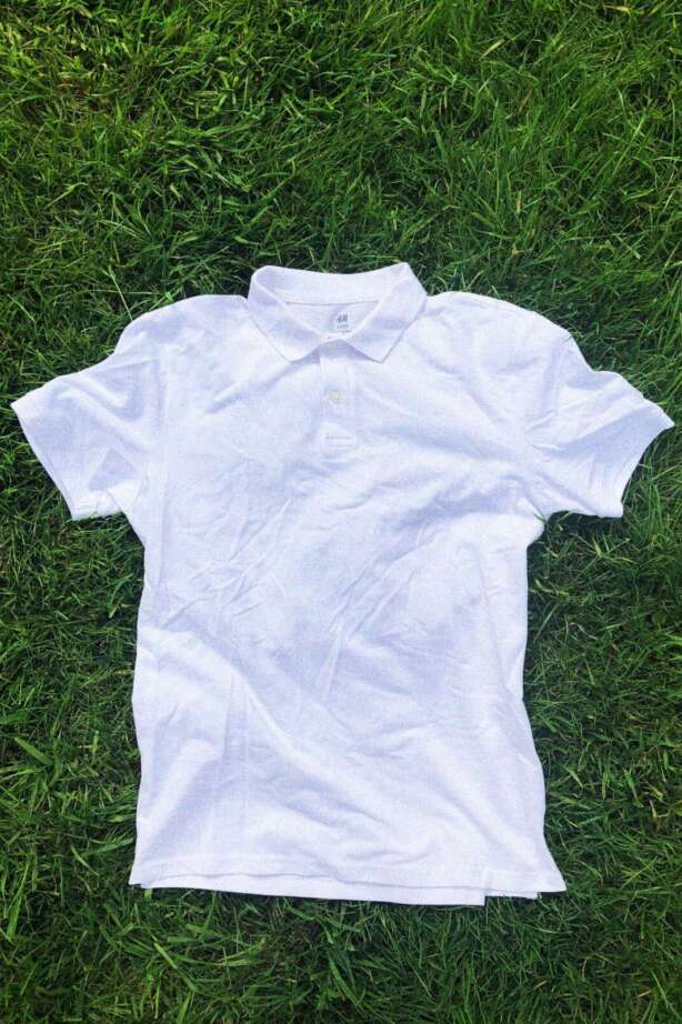 The best budget polo, the H&M Cotton Polo Shirt.